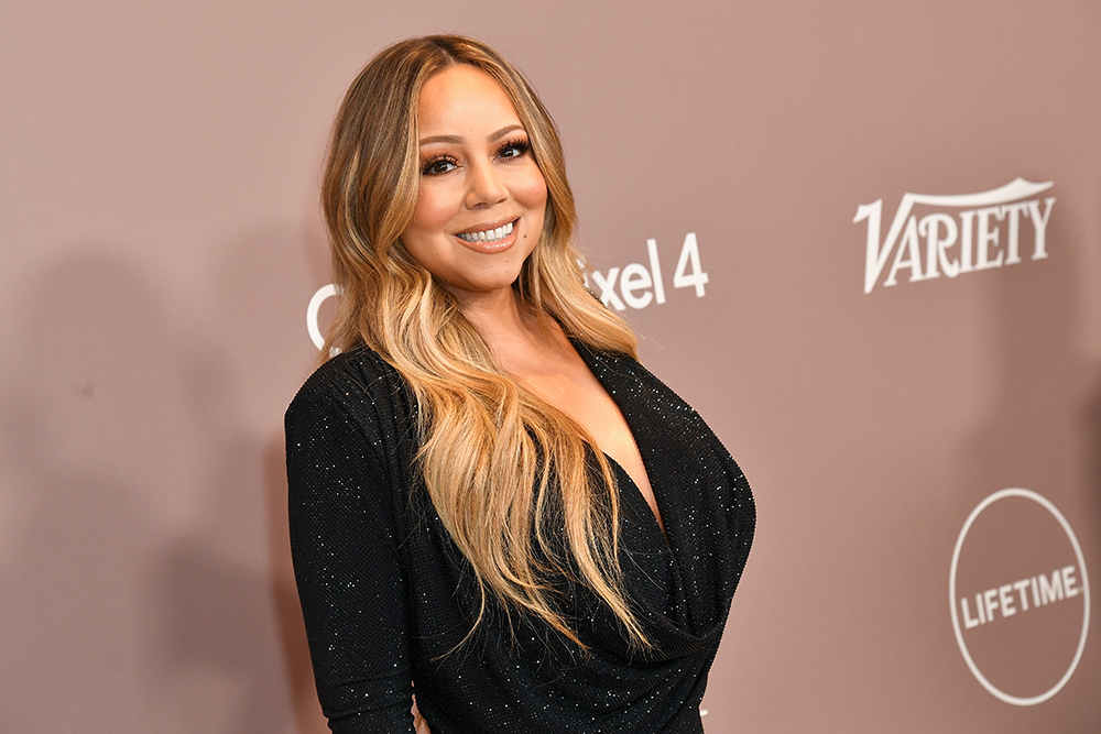 Mariah Carey Channeled Morticia Addams With A Twist On The Red Carpet Fashion Model Reflection